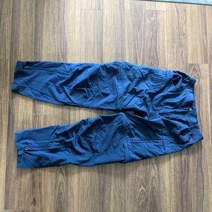 Vintage FarWest zip off hiking pants.